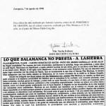 Lo que Salamanca no presta. 24-VII-98