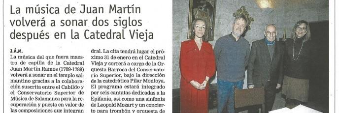 Rueda de Prensa, Enero 2012
